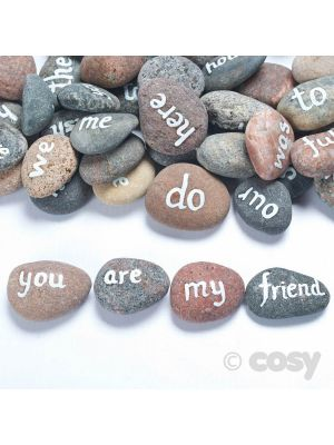 YEAR 1 COMMON EXCEPTION WORDS PEBBLES (45)