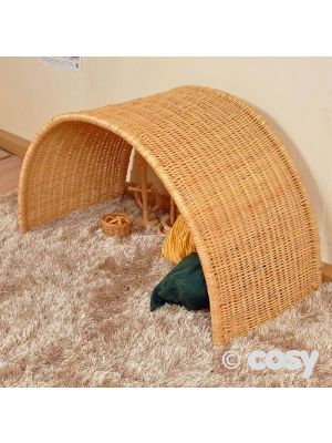HEURISTIC WICKER BABY ARCH