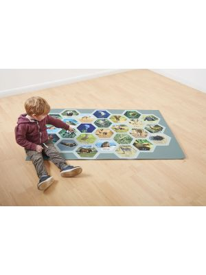 ALPHABET CARPET NON SLIP