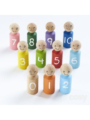 COUNTING CHARACTER PEOPLE 1-10