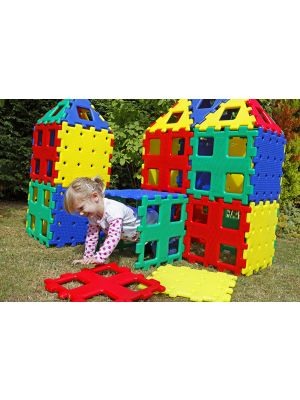 XL GIANT COLOURFUL POLYDRON (36PK)