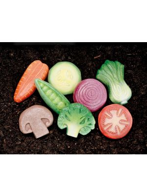 Vegetable Play Stones (8Pk)