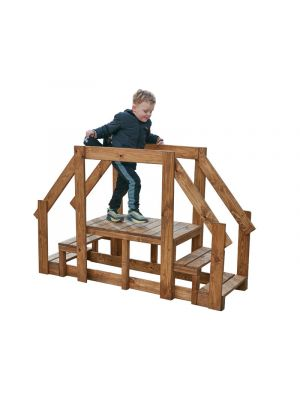 Toddler Walkway, & steps with Hand Rails