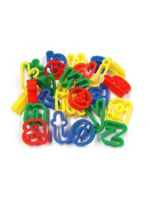 Lowercase Letter Cutters (26Pk)