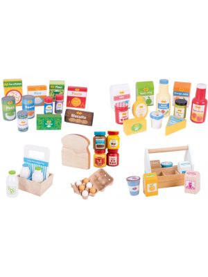 Complete Wooden Grocery Set