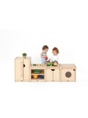 Toddlers Complete Kitchen Set ( 4Pk)