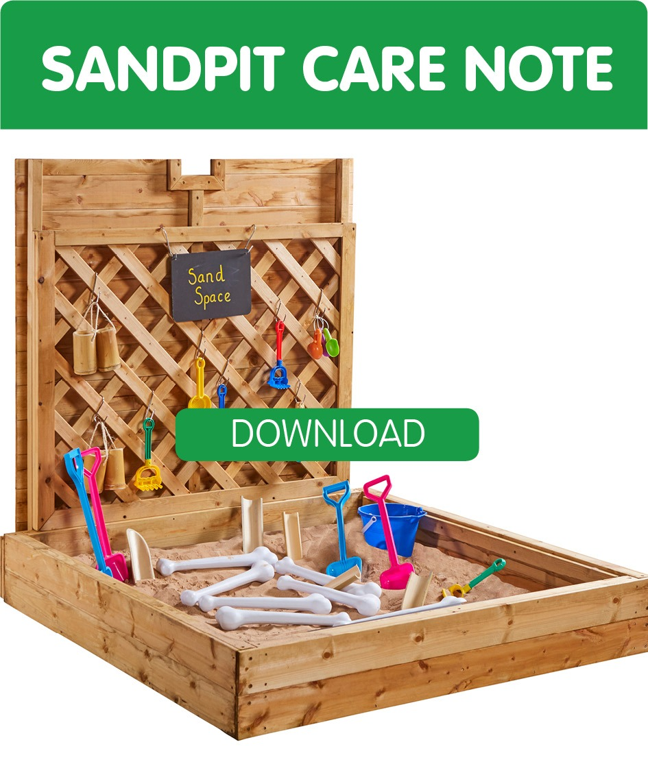 sand pit advice and care notes