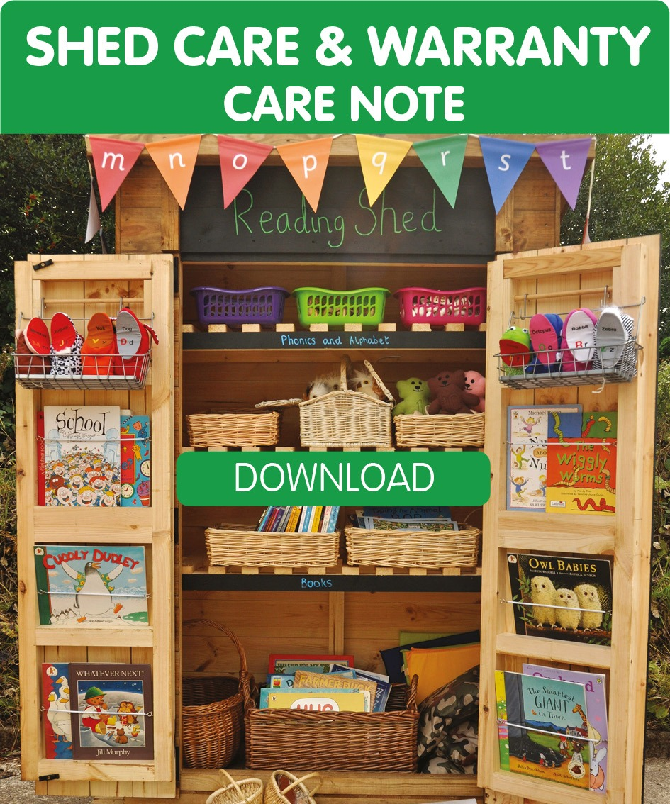 Care for your shed