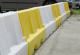 Yellow & White Water Filled Playground Barriers and Dividers 21pk 52573
