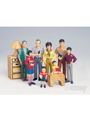 PRETEND PLAY FAMILIES (CHINESE FAMILY)