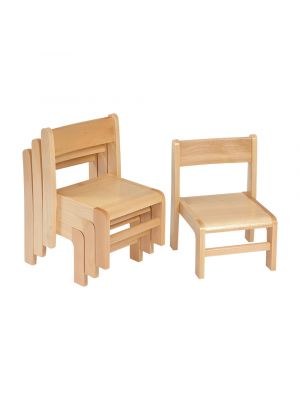 Beech Stacking Chair (4 Pack)
