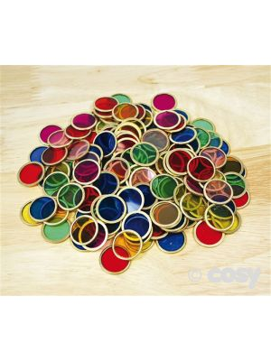 METAL COUNTING CHIPS (100PK)