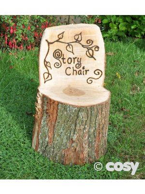 RUSTIC STORY CHAIR