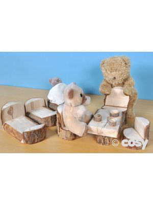 THREE BEARS RUSTIC ROLE PLAY