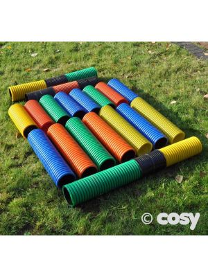 COLOURED PIPES & CONNECTORS (24PK)