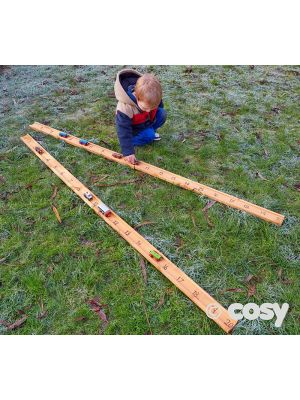 CARS NUMBER TRACK PLANK (2PK)