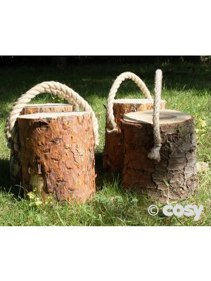 CARRYING LOG PERCH (4PK)
