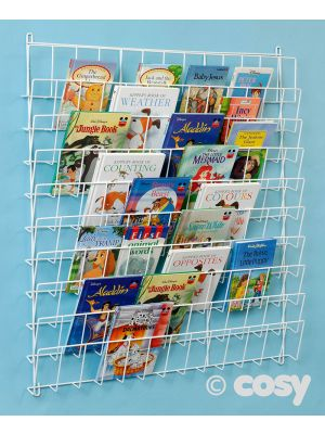 SQUARE WALL BOOKRACK