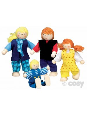 FLEXIBLE PUPPETS YOUNG FAMILY