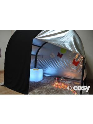 REVERSIBLE SUPER SHINY INSIDE OUT ARCH DEN COVER