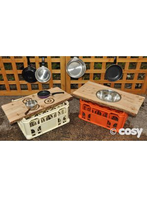 RUSTIC SINK AND HOB CRATE TOPS (2PK)