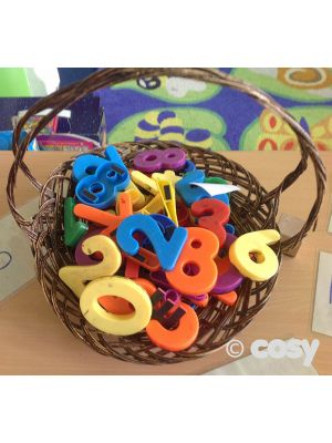 LARGE MAGNETIC NUMBERS (36PK)