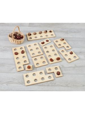MEDIUM SIZED WOODEN TENSFRAMES (11PK)