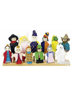 ASSORTMENT OF FINGER PUPPETS (12PK)