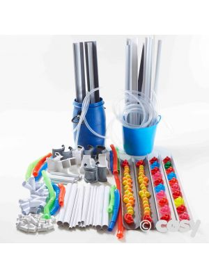 COSY COMPLETE PIPES AND GUTTERING MEGA SET (150+ITEMS)