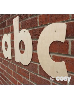 NATURAL GIANTS WOODEN LETTERS