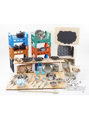 COSY COMPLETE MUD PIE KIT (65+ITEMS)