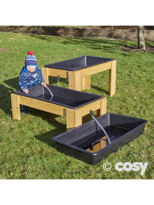 CASCADING WATER STANDS WITH TRAYS