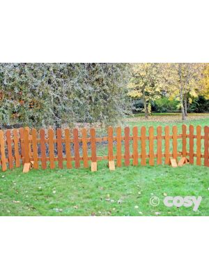 RUSTIC-STYLE FENCING (4PK)