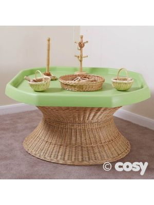 WICKER TUFF SPOT TABLE AND STORE