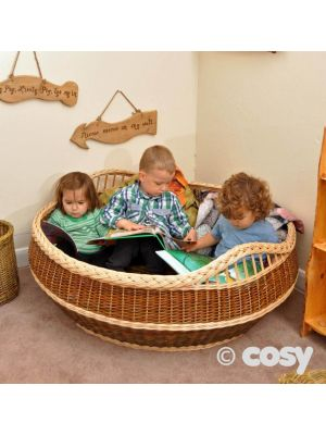 GIANT BOOK BASKET (FOR 3)