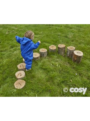 NUMBER LOGS HEIGHT SORTED (10PK)
