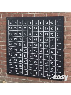 BLACKBOARD COUNTING SQUARE (UP TO 100)