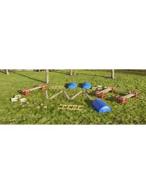 LOOSE PARTS OBSTACLE COURSE