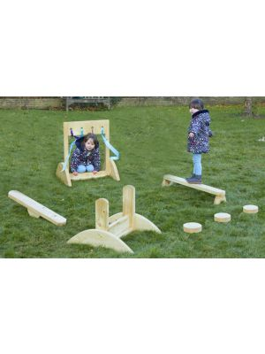 SUPER TWOS' BEEFY TEETER TOTTER COURSE (7PK)