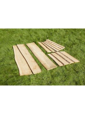 MIXED LENGTH RUSTIC PLANK SET (13PK)