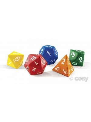 GIANT POLYHEDRAL DICE