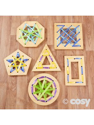 WOODEN WEAVING SHAPES