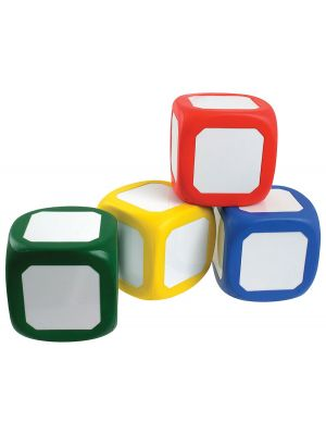 LARGE WRITE ON WIPE OFF CUBES (4PK)