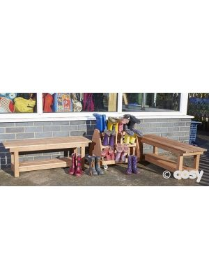 OUTDOOR SHOE BENCHES AND WELLIE MOUNT