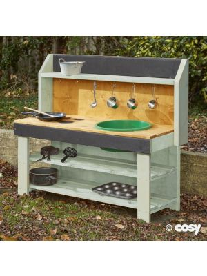 COUNTRY GREEN LARGE MUD PIE KITCHEN