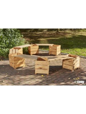 SWITCH SEAT ANGLED PLANTER SEATS (10 PERSON)