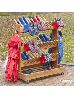 OUTDOOR MOBILE WELLY STORAGE