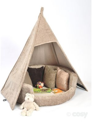 TEEPEE AND SNUGGLY DEN