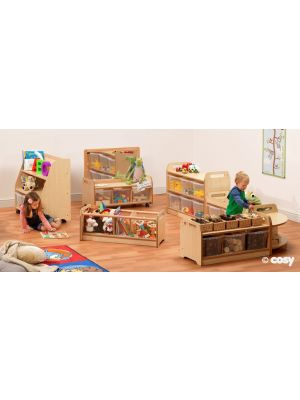 PLAYSCAPES EXPLORER ZONE WITH CLEAR TUBS