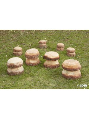 MEDIUM MUSHROOMS (4PK)